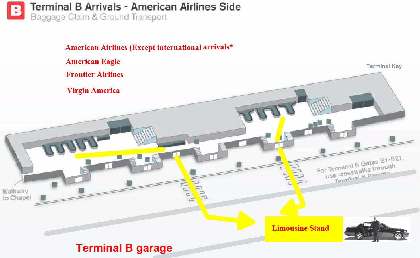 Airport information − Travel information − American Airlines